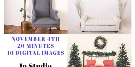 Holiday Mini Sessions In Studio!