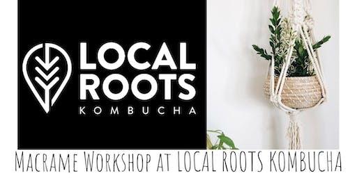 Macrame Pumpkin/Plant Hang Workshop at Local Roots Kombucha