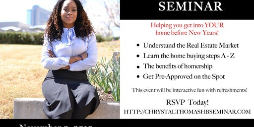 YOUR Home Buyer's Seminar