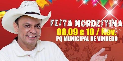Show de Frank Aguiar na Festa Nordestina de Vinhedo