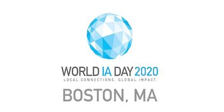 World IA Day Boston 2020: The IA Element tickets