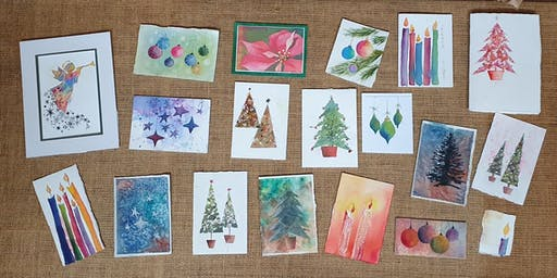 Watercolour - Make your own Christmas Cards