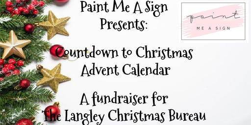 Christmas Countdown Calendar fundraiser for Langley Christmas Bureau