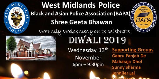 BAPA Diwali Celebrations