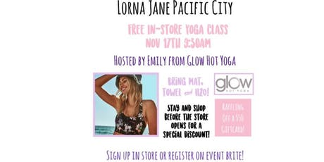 Yoga Class with Emily from Glow Hot Yoga tickets