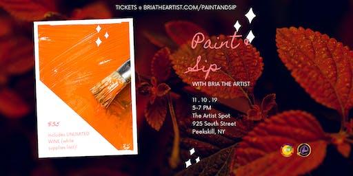 Autumn Paint & Sip