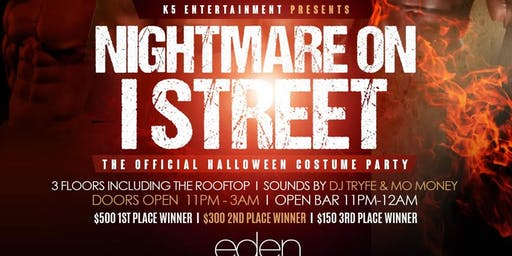 NIGHTMARE ON EYE STREET, THE ULTIMATE HALLOWEEN COSTUME PARTY