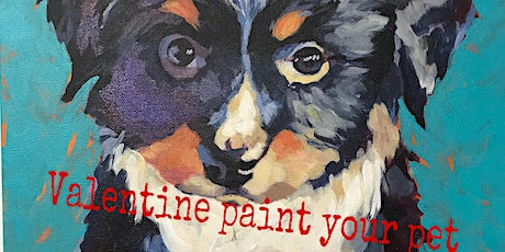 Valentine Paint Your Pet tickets