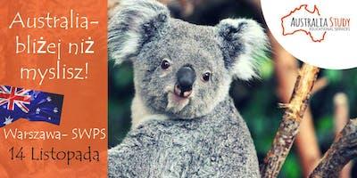 Australia: bliżej, niż myślisz! Wyjedź do Australii z SWPS