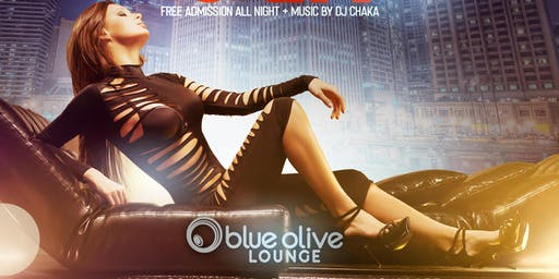 Jueves Latinos en Blue Olive - FREE COVER