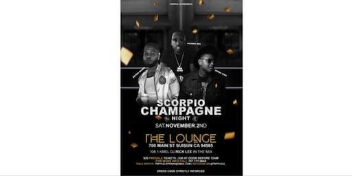 Scorpio Champagne Party