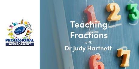 Professional Development - Teaching Fractions tickets