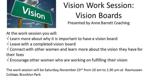 11-23-19 Vision Work Session: Vision Boards