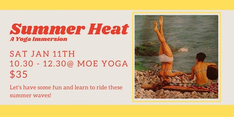 Summer Heat: A Yoga Immersion (with Jade Rosentreter) tickets