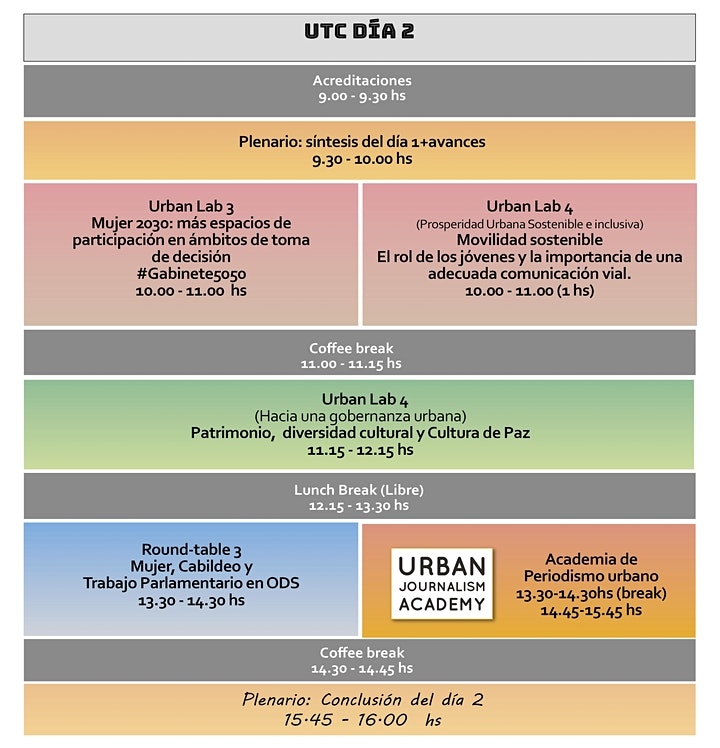 Imagen de URBAN THINKERS CAMPUS: Urbanidad vibrante e inclusiva