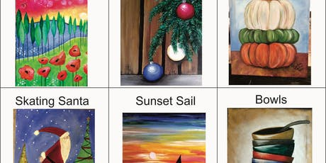 Brews & Brushstrokes - Self-guided Painting tickets