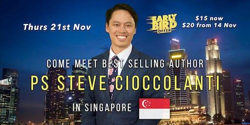 Come Meet Best Selling Author Pastor Steve Cioccolanti