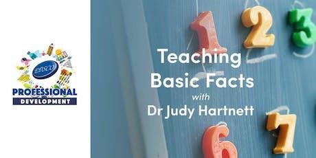 Professional Development - Teaching Basic Facts tickets