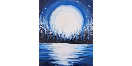 "POP-UP! 12/15 - Mimosa Morning ""Moon on Snowy Lake"" @ Tsillan Cellars, CHELAN"