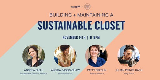 thredUP x SFA: Building + Maintaining A Sustainable Closet