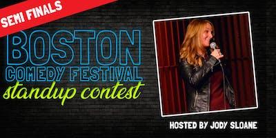 Boston Comedy Festival Stand Up Contest: Semi Final 4