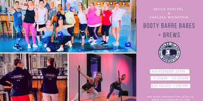 Booty Barre Babes + Holiday Brews!