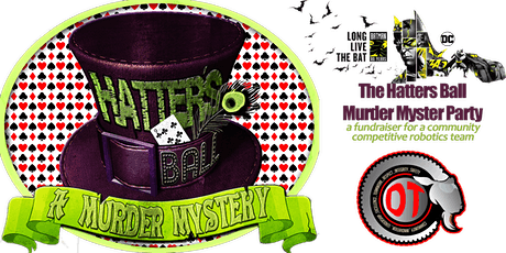 The Mad Hatters Murder Mystery Party - Hosted by Disruptive Technologies tickets