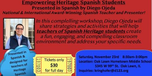 Empowering Heritage Spanish Students