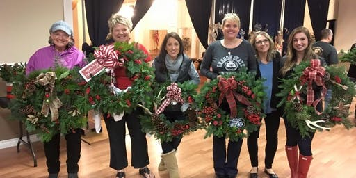 Two Girls Catering Wreath Making Party: 11am-1pm session