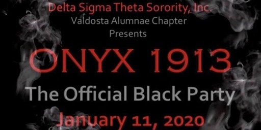 Onyx 1913- The Official Black Party