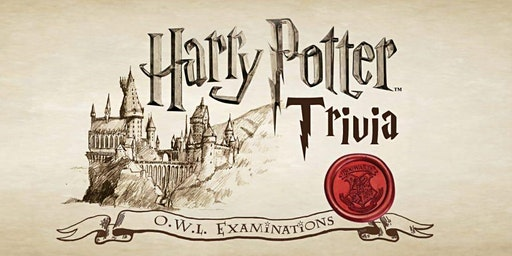 HARRY POTTER Trivia at Rock Steady