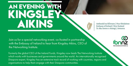 IBNNZ Wellington - An Evening with Kinglsey Aikins