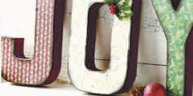 Make It Christmas - JOY Letters