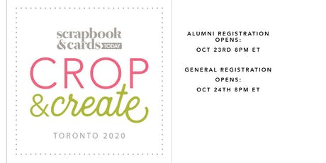 Crop & Create Toronto 2020 tickets