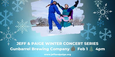 Jeff & Paige Winter Concert Series @ Gunbarrel Brewing Co.