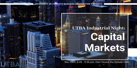 UTBA Industrial Night: Capital Markets tickets