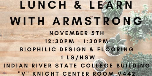 Lunch & Learn with Armstrong