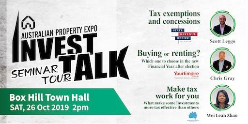 Australian Property Expo Seminar Tour