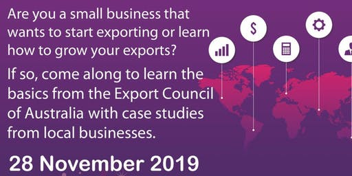 Start Exporting or Learn How To Grow Your Exports