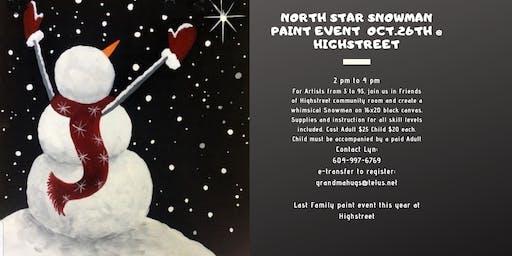 North Star Snowman
