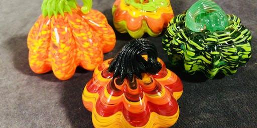 Artist Workshop: Create your own Glass Pumpkin.