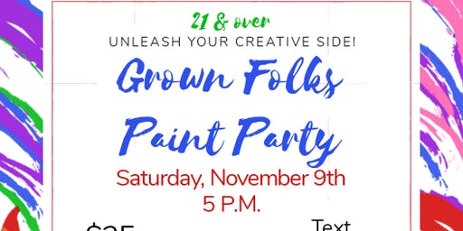 Grown Folks Paint Party