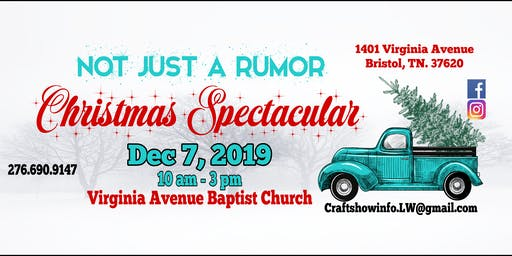 NOT Just A Rumor Christmas Spectacular