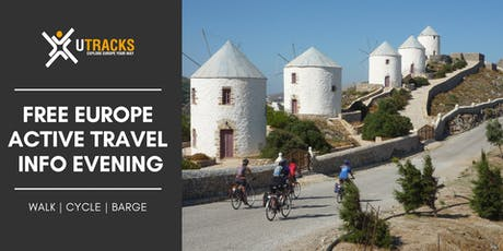 Active Europe Travel Evening | Free Melbourne tickets