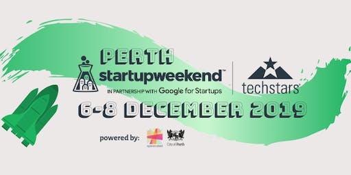 Techstars Startup Weekend Perth December 2019