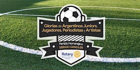 Partido Homenaje Rotary entradas