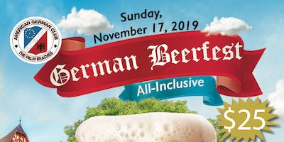 German Beerfest Under the Pavilion!