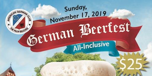 German Beerfest Under the Pavilion!