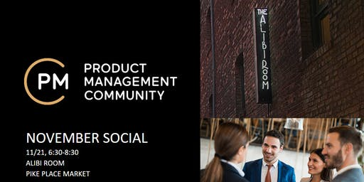 Product Management Community November Social