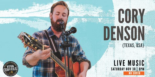 Live Music with Cory Denson